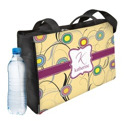 Ovals & Swirls Ladies Workout Bag (Personalized)