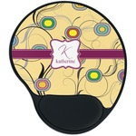 Ovals & Swirls Mouse Pad with Wrist Support