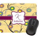Ovals & Swirls Mouse Pads (Personalized)