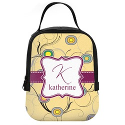 Ovals & Swirls Neoprene Lunch Tote (Personalized)