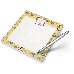 Ovals & Swirls Notepad (Personalized)