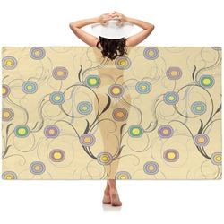 Ovals & Swirls Sheer Sarong (Personalized)
