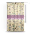 Ovals & Swirls Sheer Curtains (Personalized)