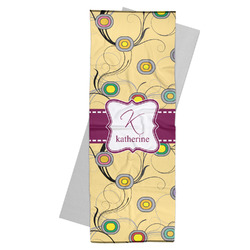 Ovals & Swirls Yoga Mat Towel (Personalized)