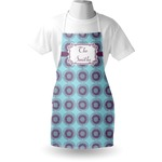 Concentric Circles Apron (Personalized)
