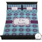 Concentric Circles Duvet Cover Set (Personalized)