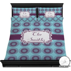 Concentric Circles Duvet Covers (Personalized)