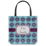 Concentric Circles Canvas Tote Bag (Personalized)