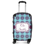 Concentric Circles Suitcase (Personalized)
