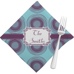 Concentric Circles Napkins (Set of 4) (Personalized)