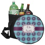 Concentric Circles Collapsible Cooler & Seat (Personalized)