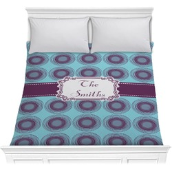 Concentric Circles Comforter (Personalized)