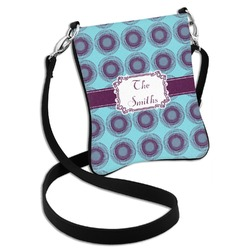 Concentric Circles Cross Body Bag - 2 Sizes (Personalized)