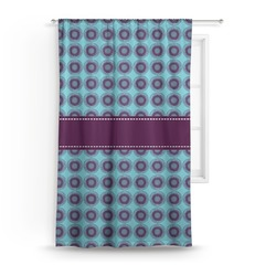 Concentric Circles Curtain (Personalized)