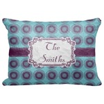 """Concentric Circles Decorative Baby Pillowcase - 16""""x12"""" (Personalized)"""