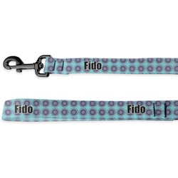 Concentric Circles Deluxe Dog Leash (Personalized)