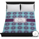 Concentric Circles Duvet Cover (Personalized)