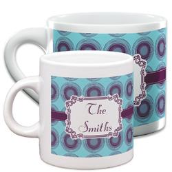 Concentric Circles Espresso Cups (Personalized)