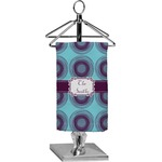 Concentric Circles Finger Tip Towel - Full Print (Personalized)