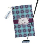 Concentric Circles Golf Towel Gift Set (Personalized)