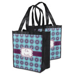 Concentric Circles Grocery Bag (Personalized)