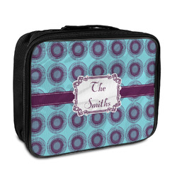Concentric Circles Insulated Lunch Bag (Personalized)