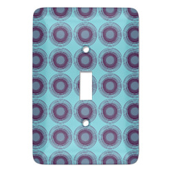 Concentric Circles Light Switch Covers (Personalized)