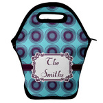 Concentric Circles Lunch Bag w/ Name or Text