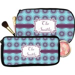 Concentric Circles Makeup / Cosmetic Bag (Personalized)