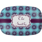 Concentric Circles Melamine Platter (Personalized)
