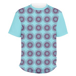 Concentric Circles Men's Crew T-Shirt (Personalized)
