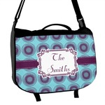 Concentric Circles Messenger Bag (Personalized)