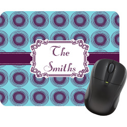 Concentric Circles Mouse Pad (Personalized)