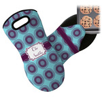 Concentric Circles Neoprene Oven Mitt (Personalized)