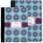 Concentric Circles Notebook Padfolio w/ Name or Text