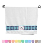 Concentric Circles Bath Towel (Personalized)