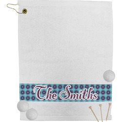 Concentric Circles Golf Towel (Personalized)