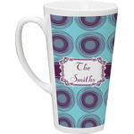 Concentric Circles Latte Mug (Personalized)