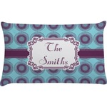 Concentric Circles Pillow Case (Personalized)
