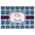 Concentric Circles Placemat (Laminated) (Personalized)