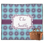 Concentric Circles Outdoor Picnic Blanket (Personalized)