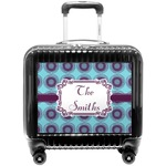 Concentric Circles Pilot / Flight Suitcase (Personalized)