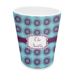 Concentric Circles Plastic Tumbler 6oz (Personalized)
