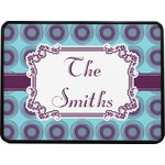 Concentric Circles Rectangular Trailer Hitch Cover (Personalized)
