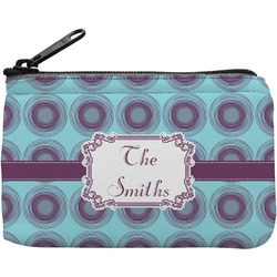 Concentric Circles Rectangular Coin Purse (Personalized)