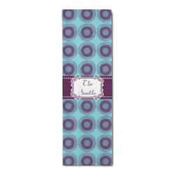 Concentric Circles Runner Rug - 3.66'x8' (Personalized)
