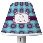 Concentric Circles Shade Night Light (Personalized)