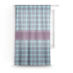 Concentric Circles Sheer Curtains (Personalized)