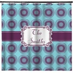 Concentric Circles Shower Curtain (Personalized)