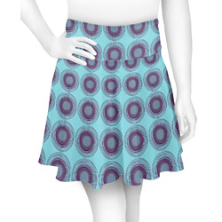 Concentric Circles Skater Skirt (Personalized)